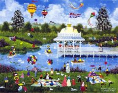 THE MOTHER'S DAY PICNIC - REMARQUE