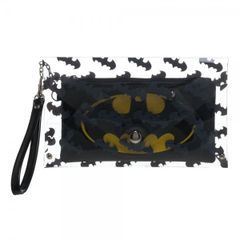 Batman Clear Envelope Wallet with Wristlet