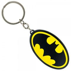 Batman Logo Metal Keychain