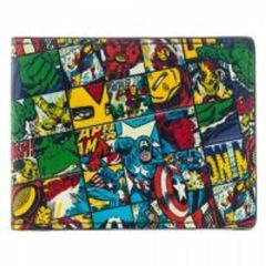 Marvel All Over Print Bi-Fold Wallet