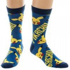 Pokemon Pikachu All Over Print Crew Socks