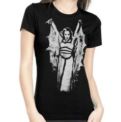 Lily Munster Bat Wings Women's TShirt
