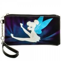 Disney Tinkerbell Clear Envelope Wallet with Wristlet