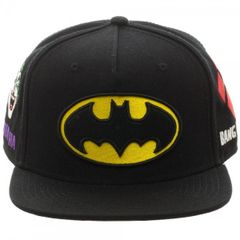 Batman Full Color Omni Snapback Hat