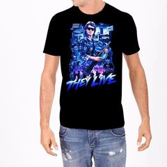 They Live Mens Collage Tee