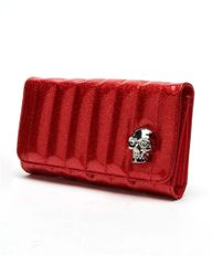 Lady Vamp Wallet Red Sparkle