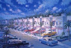 Condo Motel-24x36 Print On Fine Art Paper