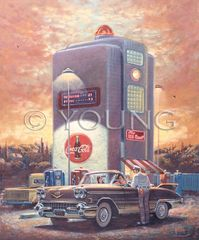 Big Pump-19x16 Print On Canvas