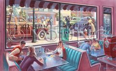 After School-22x36 Print On Canvas