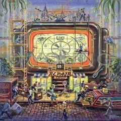 Repair Shop-Original Painting