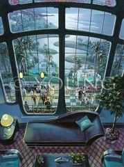 Pleasure Of Your Company-40x30 Print On Canvas