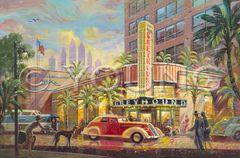 Greyhound, The-24x36 Print On Canvas