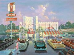 Prince Hamburgers-18x24 Print On Matte Paper