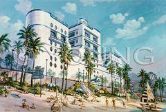 Lost Hotel-24x36 Print On Fine Art Paper