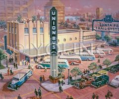 Union Depot-24x30 Print On Canvas