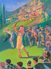 Into The Sun-18x24 Print On Canvas