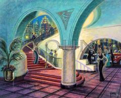 Arched Entrance-24x30 Print On Canvas