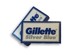 Gillette Silver Blue DE Razor Blades