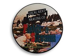 Local Gent Shaving Co. Fields & Streams 4 oz. Shaving Soap