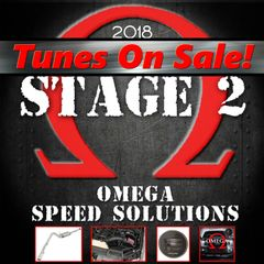 Omega Speed Solutions STAGE 2 - 2018 F150 5.0L