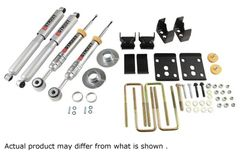 "BELLTECH Lowering Kit (+1"" to -3"" Front. -5.5"" Rear) - 2009-2013 F150 2WD"