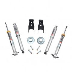Belltech LOWERING KIT 3inF - 4inR - 2014 Ford F-150 All Cab Short Bed 2wd