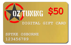 Oz Tuning $50 Digital Gift Card