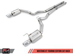 AWE Cat-back Exhaust - Touring Edition -2015-2017 Mustang GT 5.0L