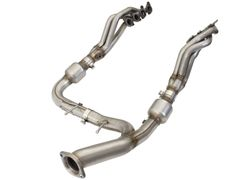 AFE Power Twisted Steel Headers and Y-Pipe 2015-2017 Ford F150 5.0L