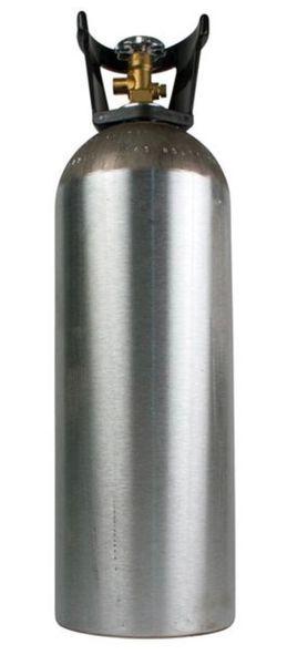 Co2 Food & Beverage Grade 20LB Bottle Exchange Valve Type LIQUID
