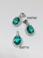 22ST02 PARAIBA EARRINGS