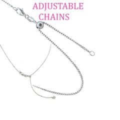 """925 SILVER ADJUSTABLE ,FOX TAIL ,BOX CHAIN 1.2MM-55ST20-20 """" INCH"""