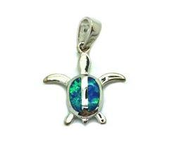 925 sterling silver lab opal small turtle stud earrings . 33op02-k5