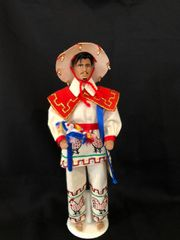 NAYARIT HUICHOL MALE COLLECTION DOLL