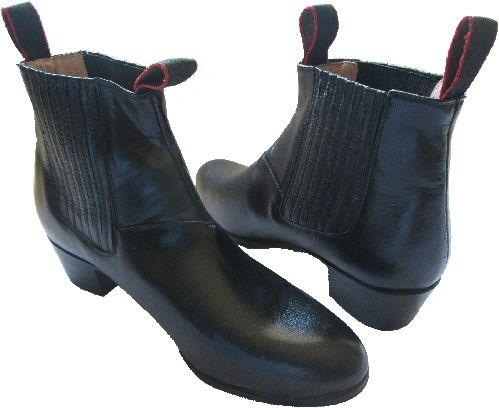 Men's Dance Folkloric Shoes - Black