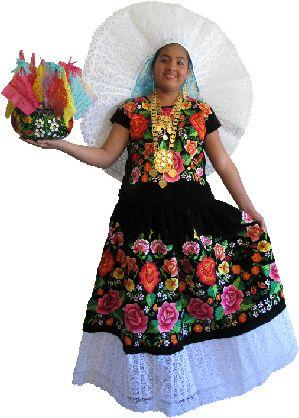 Tehuana-Gala dress