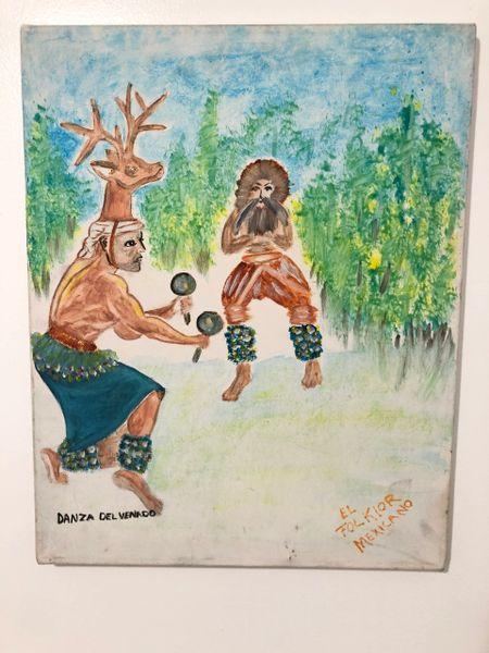 Danza del Venado Painting