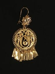 Small earring- Round/Drop
