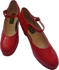 Women Dance Folkloric Shoes - Red