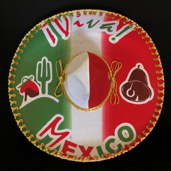 """VIVA MEXICO"" Sombrero"
