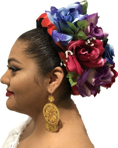 Veracruz Jarocha Trensa Hair Piece