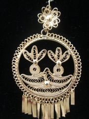 Large earrings- Round/ Pineapples