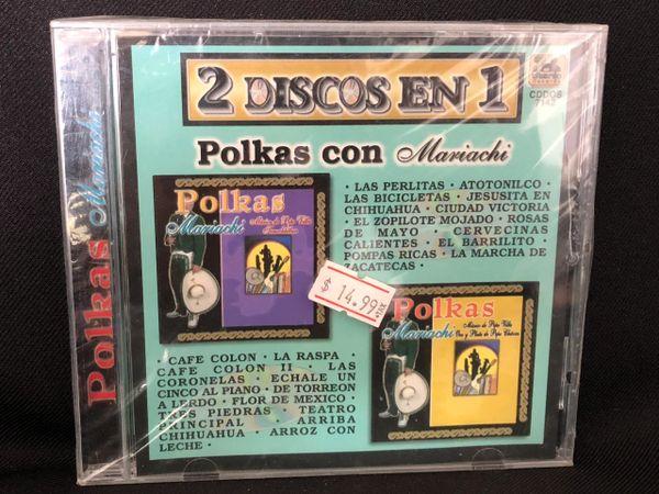 Polkas con Mariachi 2 discos en 1