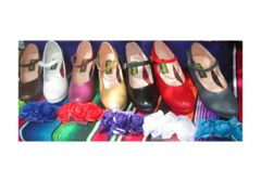 Women Dance Folkloric Shoes- Colors