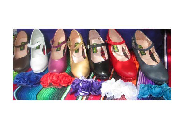 Women Dance Folkloric Shoes- Colors