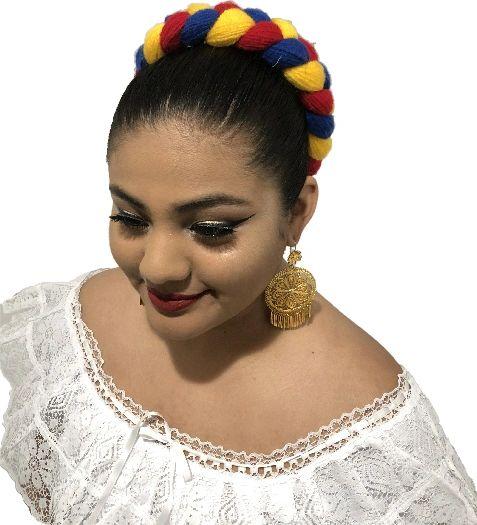 Veracruz Huasteca Trensa Hair Piece