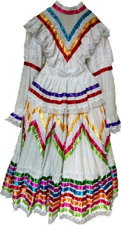 Jalisco Dress- White