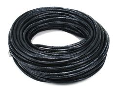 Cable - Cat5e 24AWG UTP Ethernet Network Patch Cable, 100ft Black