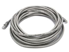 Cable - Cat5e 24AWG UTP Ethernet Network Patch Cable, 25ft Gray