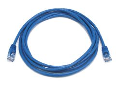 Cable - Cat5e 24AWG UTP Ethernet Network Patch Cable, 7ft Blue